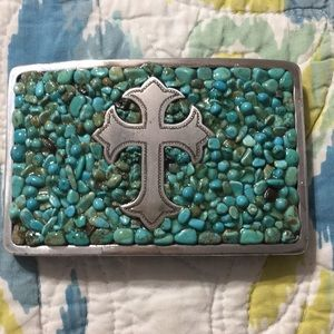 Nocona Cross Belt Buckle